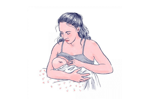 position allaitement madone