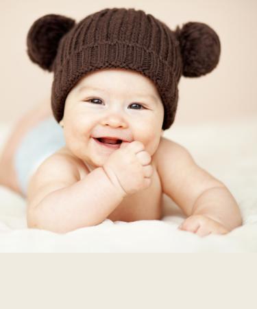 premier sourire bébé